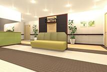 アシステッドリビング習志野3~4階エレベータホールイメージ