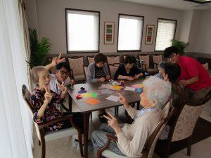 折り紙レク開催♫ 川越