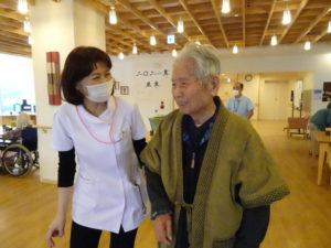 看護師さんと機能訓練 @稲毛